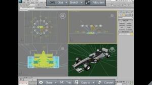 simulating light with scanline renderer