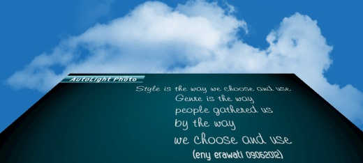 3D quote style and genre by eny erawati