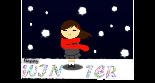 Happy Winter Greeting Card NNR