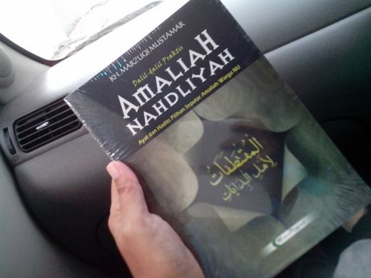 buku Amaliah Nahdliyah - KH Marzuki Mustamar